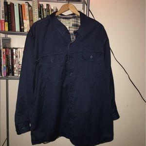LL Bean Mens Hurricane Shirt Size XL